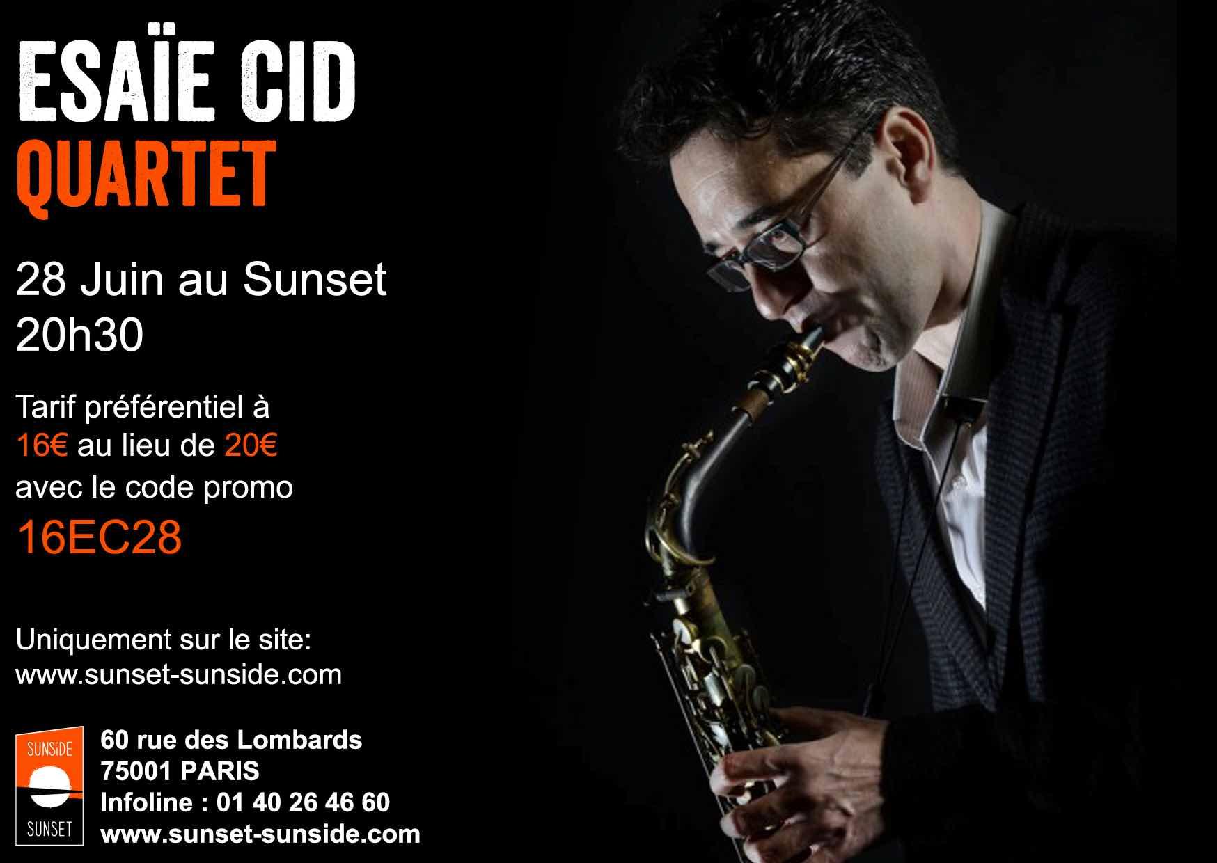 Gilles Rea et Esaïe Cid au Sunset @ Sunset | Paris | Île-de-France | France
