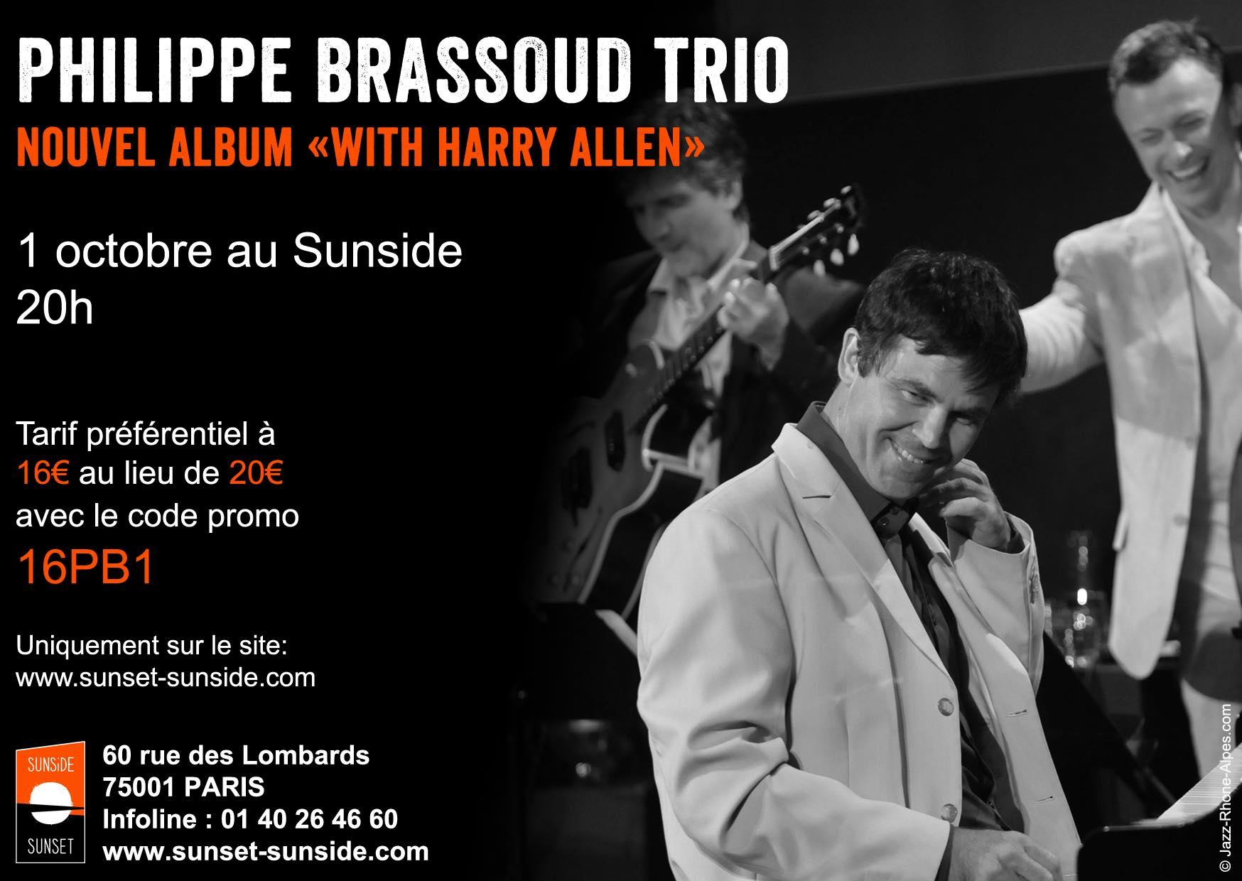Trio Brassoud-De Preissac-Rea au Sunside @ Sunset | Paris | Île-de-France | France
